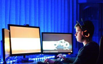 fotel gamingowy gra komputer