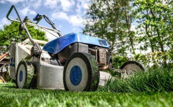 kosiarka ogród trawa