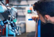 Robot do spawania