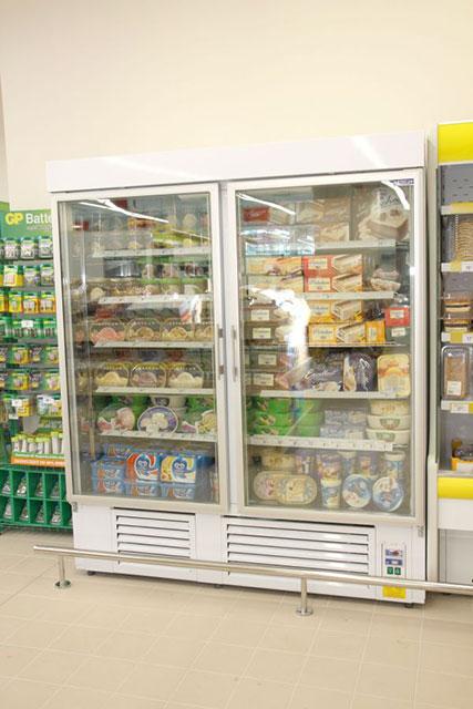 Warunki panujące we wnętrzu szaf chłodniczych