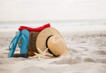 Wakacyjny wypoczynek na plaży