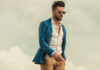Elegancka stylizacja modnego mężczyzny na jesień
